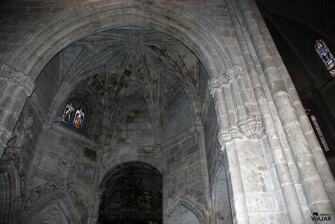Una de las bóvedas de Santa María. Aranda de Duero. Burgos