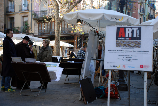 El Gótic y sus pintores. Barcelona