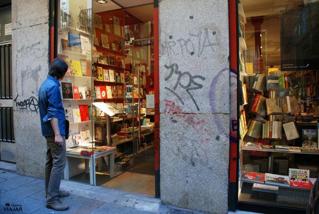 Librería Panta Rhei. Hernán Cortés, 7. Madrid