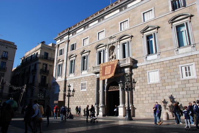 Palau de la Generalitat de Catalunya. Barcelona