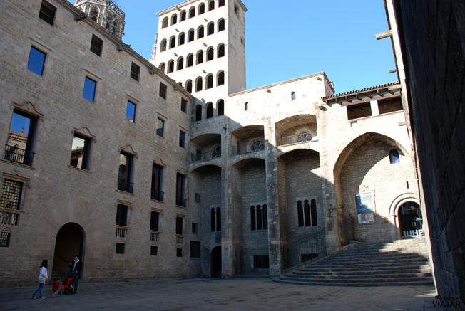 Plaça del Rei. Barcelona