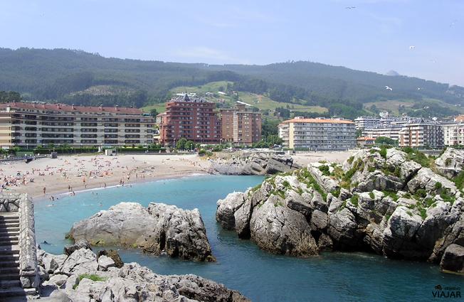 Playa de Ostende. Castro Urdales. Cantabria