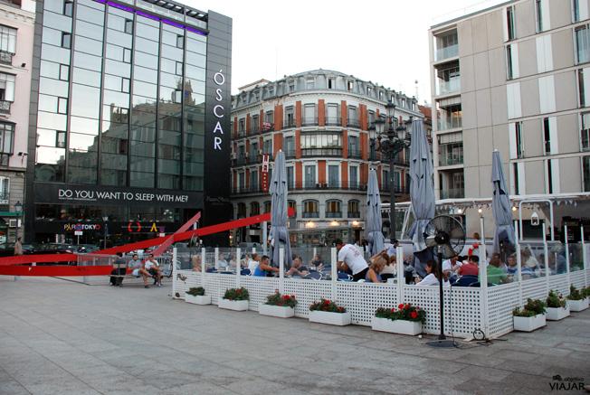 Plaza Vázquez de Mella. Madrid