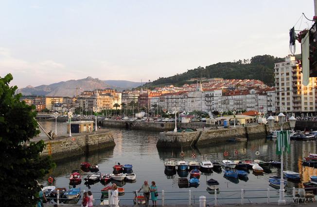 Puerto de Castro Urdiales. Cantabria