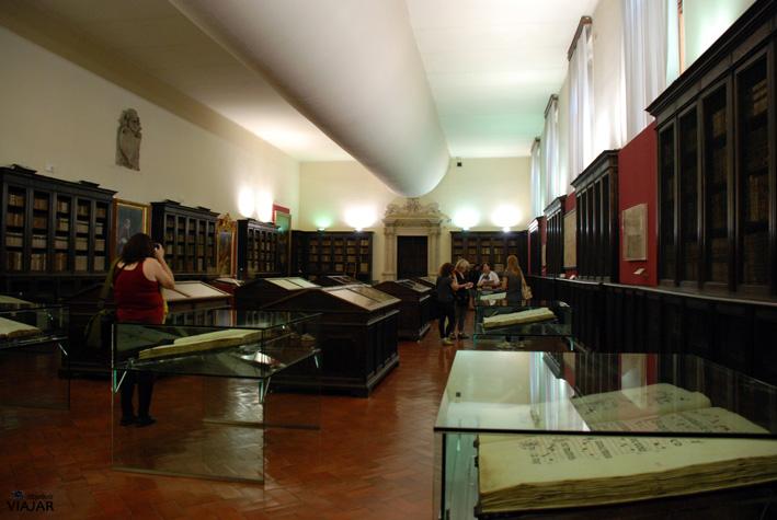 Biblioteca Antica. Cesena. Italia