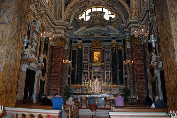 Capilla de la Madonna del Popolo. Duomo di San Giovanni Battista. Cesena