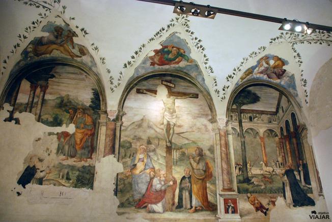 Frescos del refectorio del Convento de los Dominicos. Forlì.