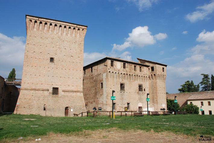 La Rocca Malatestiana. Cesena. Italia