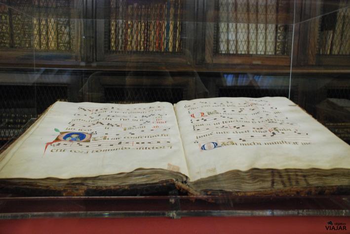 Manuscrito de la Biblioteca Antica. Cesena. Italia