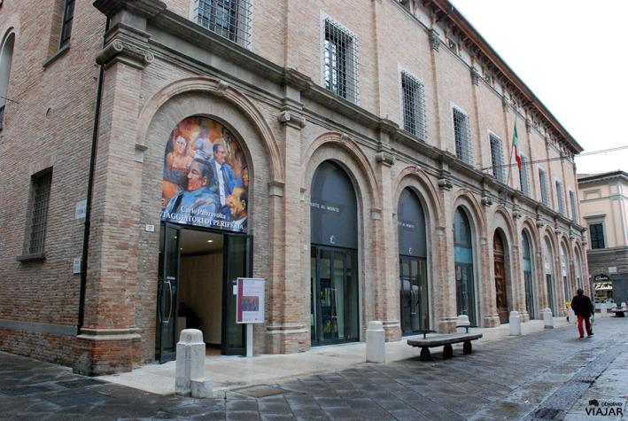 Palazzo Monte di Pietà. Forlì. Italia