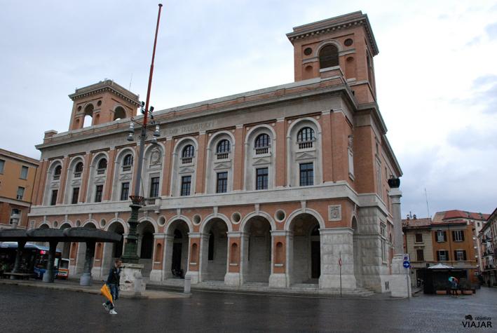 Palazzo delle Poste. Forlì. Italia