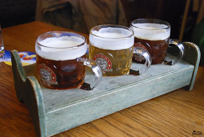 Sabores artesanales en la cervecería Domus. Lovaina