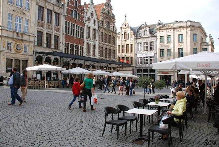Terrazas de la Grote Markt. Lovaina