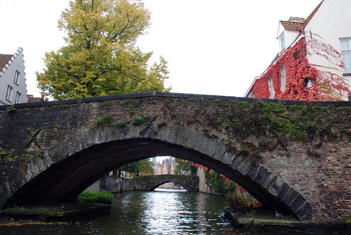 Canal Groenerei. Brujas