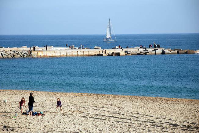 Playa Mar Bella. Barcelona