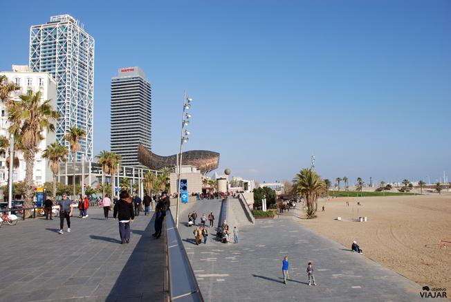 Playa de Somorrostro. Barcelona