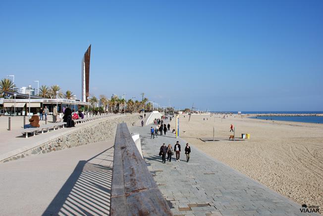 Playa de la Nova Icària. Barcelona