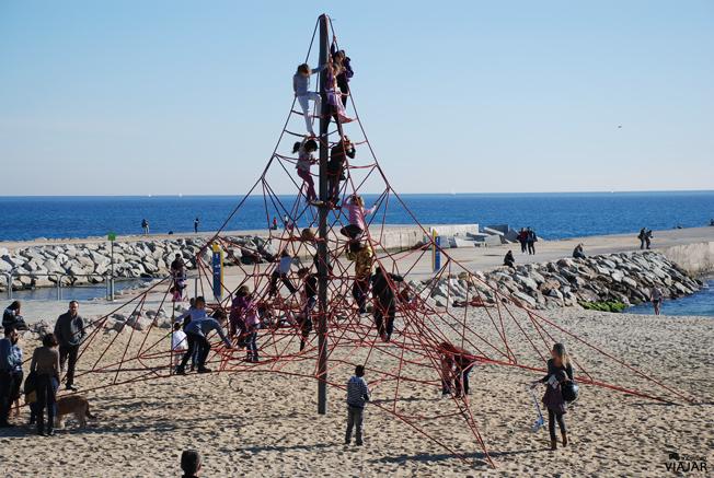 Playa del Bogatell. Barcelona