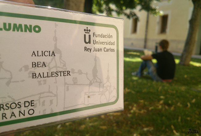 Curso de verano en Aranjuez