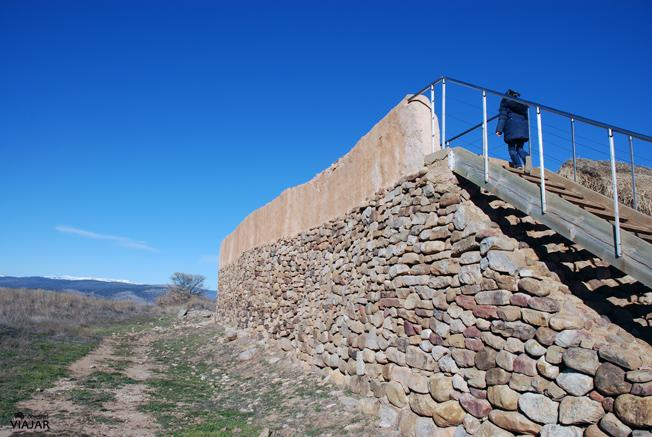 Muralla celtibérica. Numancia. Soria