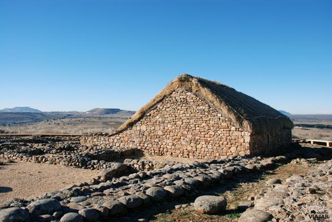 Recinto arqueológico de Numancia. Soria