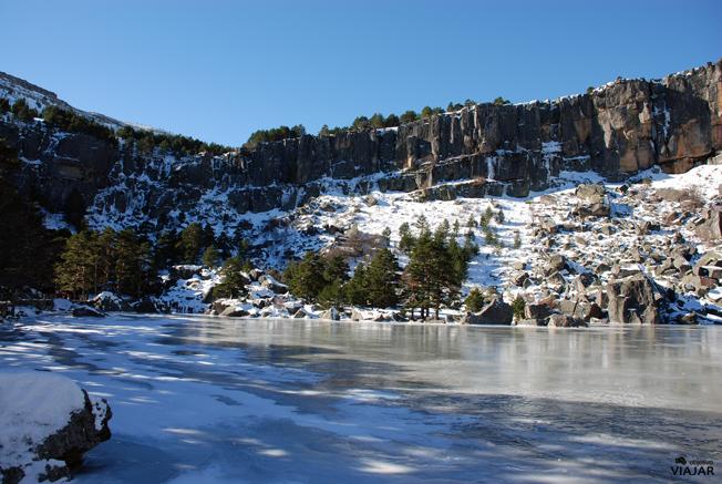 Vistas de la Laguna Negra. Soria