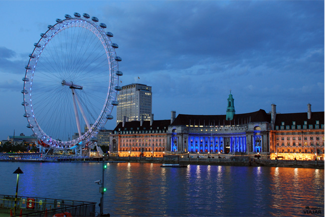 London Eye. Londres