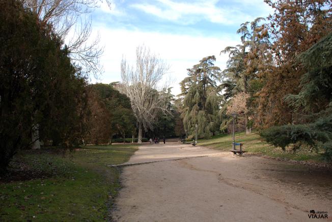 Parque del Oeste. Madrid