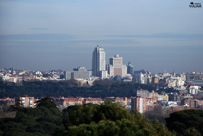 Plaza España y alrededores. Madrid