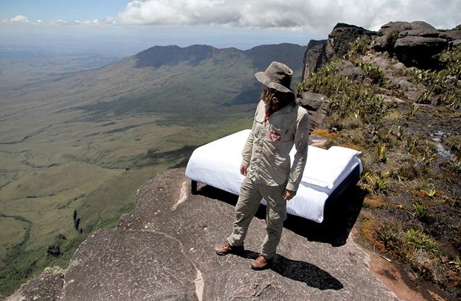 Aaron Chervenak en el Monte Roraima