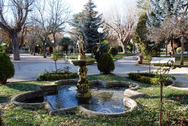 Alameda de Cervantes. Soria