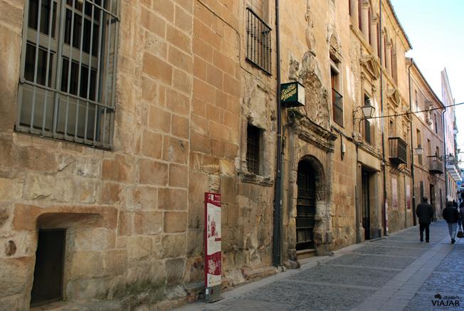 Calle Aduana Vieja. Soria
