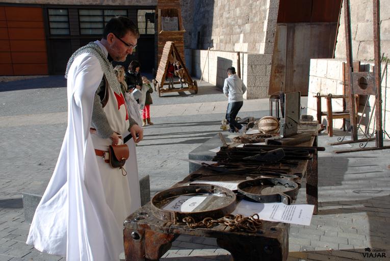 Exposición de instrumentos de tortura. Bodas de Isabel. Teruel