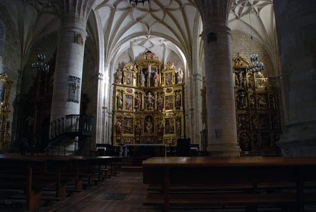 Interior de la Concatedral de San Pedro. Soria