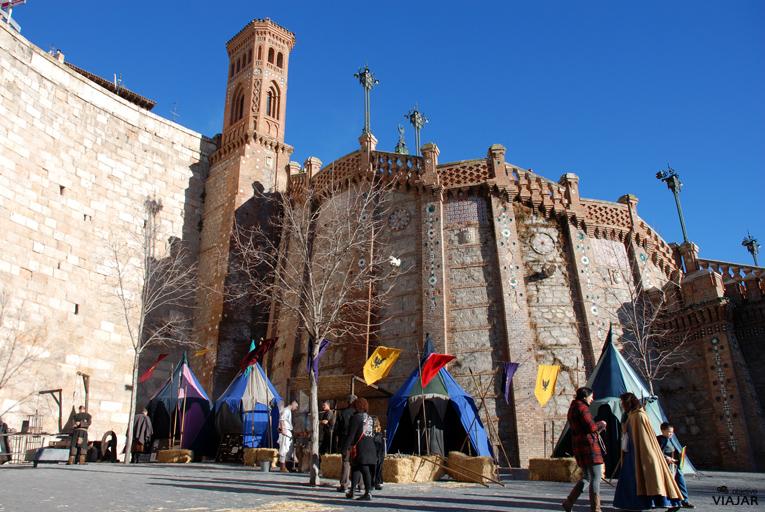 Jardines de la Escalinata. Bodas de Isabel. Teruel