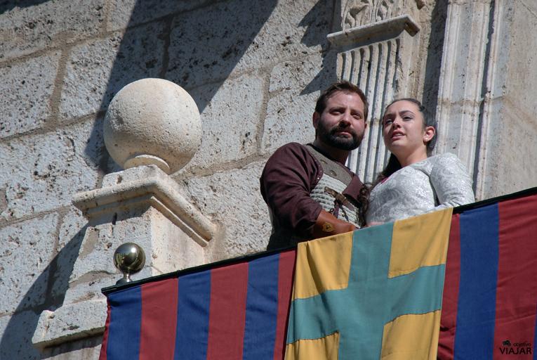 Los protagonistas de las Bodas de Isabel. Teruel