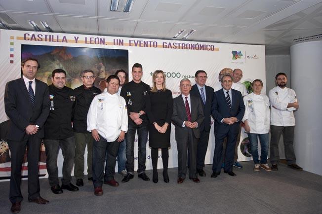Presentación en Madrid de Castilla y León, un evento gastronómico. Foto Miguel A. Munoz Romero.