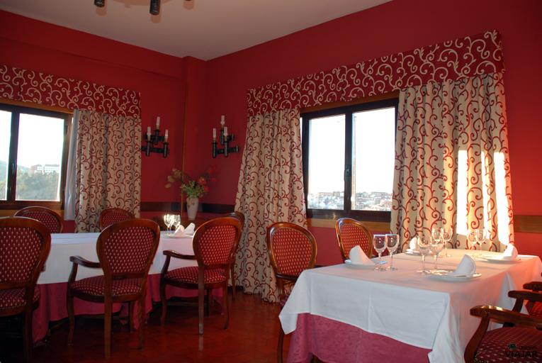 Comedor. Hotel Leonor Mirón. Soria