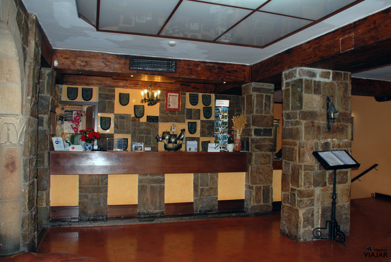 Recepción del Hotel Leonor Mirón. Soria