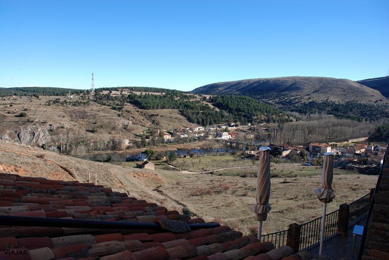 Vistas desde la habitación. Hotel Leonor Mirón. Soria