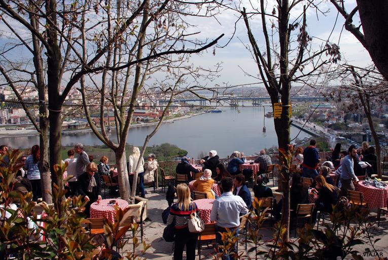 Café Pierre Loti. Estambul