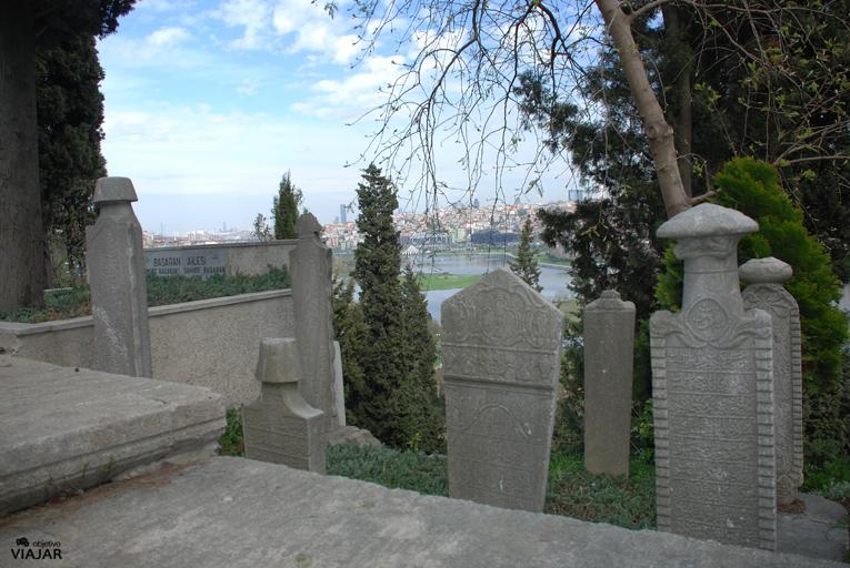 Cementerio musulmán de Eyüp. Estambul
