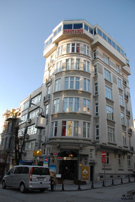 Fachada hotel Adamar. Estambul