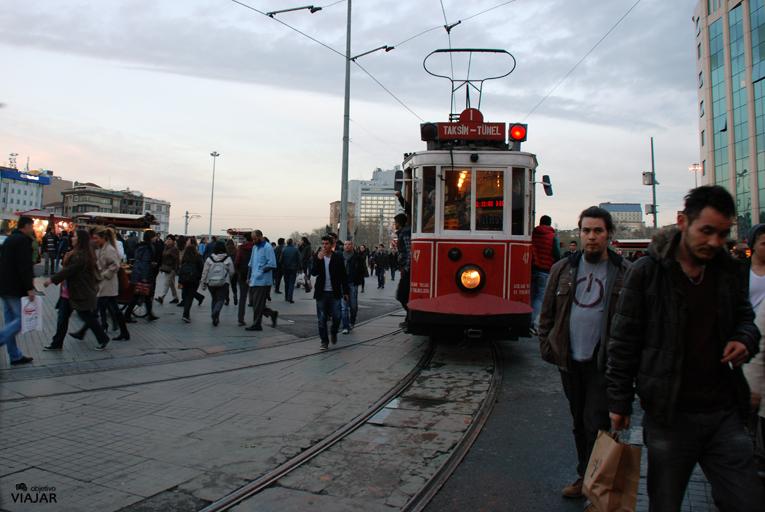 Istiklal Caddesi. Estambul