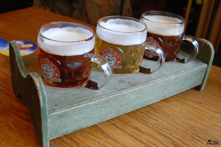 Las cervezas artesanales de Domus. Lovaina