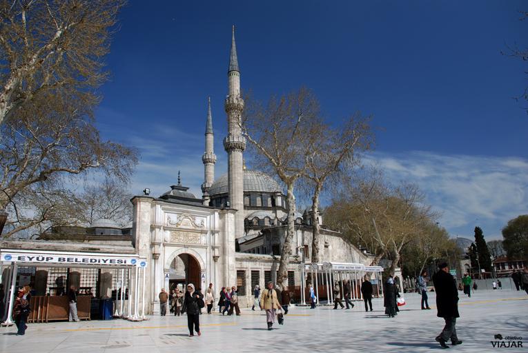 Mezquita de Eyüp Sultan. Estambul