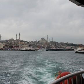 Estambul y el Bósforo, navegando entre dos continentes