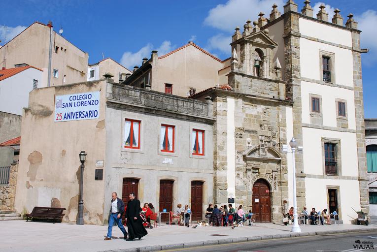 Capilla de San Lorenzo y Torre de los Jove-Hevia. Gijón