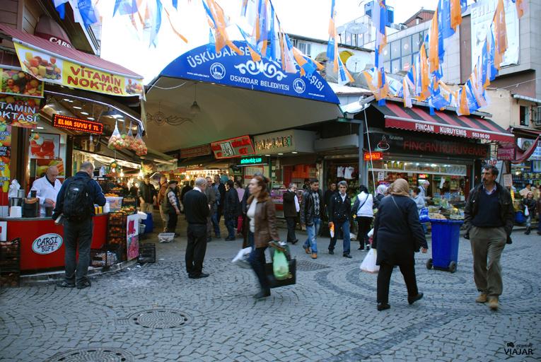 Mercado de Üsküdar. Estambul