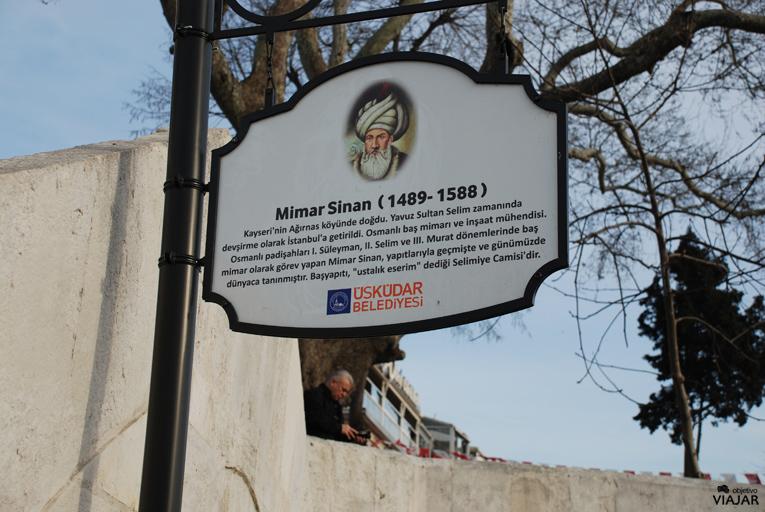 Mimar Sinan fue el gran maestro de la arquitectura otomana. Üsküdar. Estambul